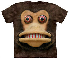 Cymbal Monkey Adult Unisex T-Shirt The Mountain