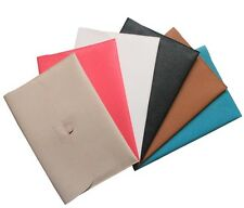 7 Color PU Leather Case Carry Sleeve Bag Cover For Macbook Air 11'' Air 13''