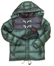 Bubble Coat With Leatherette Trim b Rich Cotton Match Beef & Broccoli Timberland