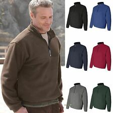 Colorado Clothing Mens Classic Fleece Half Zip Pullover S-5XL 12010