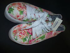 Womens AEROPOSTALE Floral Platform Shoes Sneakers NWT #9809