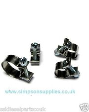 Stainless Steel Mini Hose Clamps Pack of 10