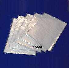 """25 - 1000 11x14"""" Clear Poly Bags 1 Mil Shirt Sweater Large Small Plastic Baggies"""