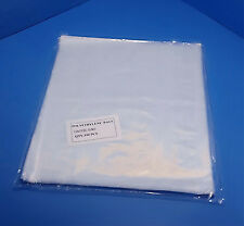 "25 - 1000  8x8"" Clear Poly Bags 1 Mil Open Top Plastic Packaging Baggies LDPE"