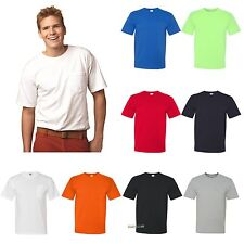 Bayside USA Made Short Sleeve T Shirt With a Pocket 100% Mens Tee S-4XL 5070