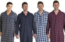 BRAND NEW MENS BRUSHED COTTON NIGHTSHIRTS SIZES MED-L-XL-XXL