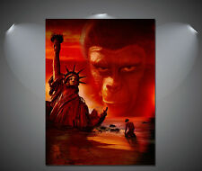 Planet of the Apes Vintage Movie Poster - A1, A2, A3, A4 sizes