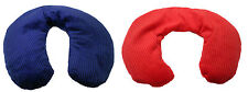 Microwaveble Cherry Stone Neck Pillows Heat Massage Therapy, Red or Blue, UK