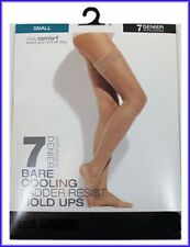 7 Denier Bare Cooling Hold Ups Ex M & S