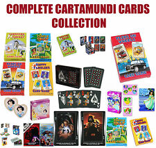 CARTAMUNDI CARDS Farmyard Donkey,Happy Families..James bond, Copang EPOC etc....