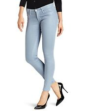 HUDSON Jeans KRISTA SUPER SKINNY in CAN'T YOU SEE blue coated wash sz 26 27 NWT