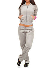 Damen Nickianzug Nicki Sportanzug Jogginganzug Trainingsanzug Homeanzug S-XXL