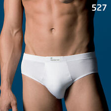 Mens White Briefs Abanderado Classic Underwear Zip fly 100 Cotton
