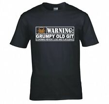 WARNING: GRUMPY OLD GIT T SHIRT