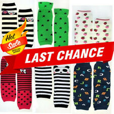 Cute Toddler Girl/Boy Leg Warmers Leggings Stripes Polka Dots Owl Star Socks OS