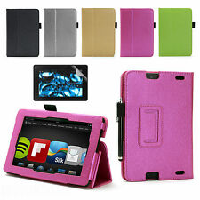 """FROST LEATHER CASE COVER FOR AMAZON KINDLE FIRE HD 2 7"""" (2nd Gen. 7 in 2013)"""