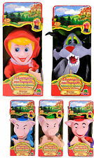 Hand Pupets PUPPET SHOW LITTLE RED RIDING HOOD Bad Wolf Three little Pigs Show