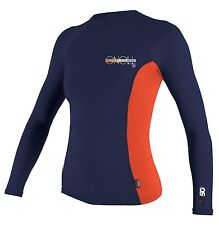 O'Neill SPF 50 Rated Women's Basic Skins Long Sleeve Crew Rash Guard