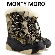 KIDS BOYS  GIRLS WINTER THERMAL SNOW BOOTS UK size 3-11 /EUR 20-29