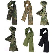 J156 cool Airsoft Tactical Multifunctional Camouflage Scrim Scarf Face Veil Mask