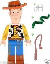 LEGO TOY STORY, DIRT PATERN WOODY FIGURE + FREE EXTRA'S - RARE - BESTPRICE - NEW