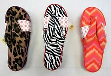 June & Daisy Cotton Flip Flops - Great Cushion - Makes A Fun Gift - Low Price!