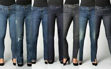 New Lot WOMEN'S Blue Denim Plus Size Skinny Pants Jeans 14 16 18 20 XL 2X 3X