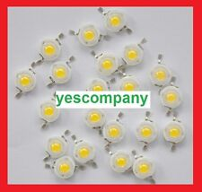 50pcs 1w Led Chip High Power LED Beads 110LM Epistar Warm/pure /Neutral 10000k