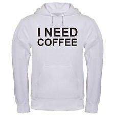 I NEED COFFEE DRINK COFFEE POT CAFFEINE BREW GROUND ROAST ESPRESSO hoodie hoody