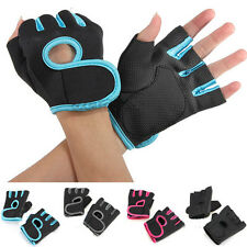 Sport Cycling Fitness GYM Half Finger Weight lifting  Exercise Training Gloves M