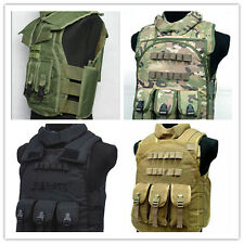 Men's Outdoor Tactical Waistcoat/SWAT Airsoft Paintball Combat Assault CS Vest