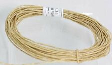 Hemp cord WAXED  with Pure Bees wax  Hemp Twine -   - Holds Flame