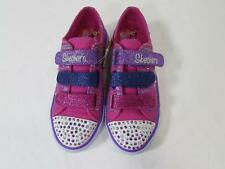 NIB SKECHERS Neon Purple/Pink Twinkle Toes Light Up Shoes Girls Sizes 2.5 and 3