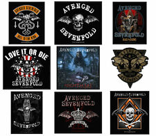 Avenged Sevenfold Sew On Patches NEW OFFICIAL Choice of 9 designs