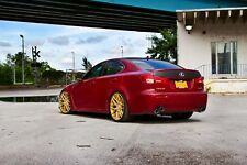 Lexus ISF IS-F on 360 Forged wheels HD Poster print Multi sizes available