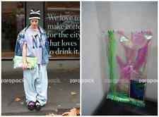 New Women Hologram Rainbow Transparent Candy Clutch Party Purse Personalized