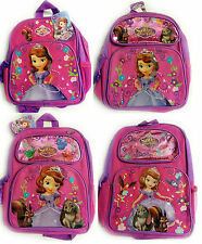 New Disney Princess Sofia The First Kids Backpack School [Size: Small - Large]