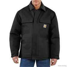 CARHARTT C003 DUCK TRADITIONAL COAT, ARCTIC-QUILT LINED, M-4X REG & TALL