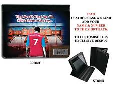 PERSONALISED UNOFFICIAL ASTON VILLA IPAD PU LEATHER CASE