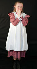 Girls Edwardian/Victorian/WW1/ DRESS WITH OVER PINNY Fancy Dress  all ages