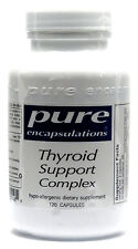 Pure Encapsulations Thyroid Support Complex Vegetable Capsules