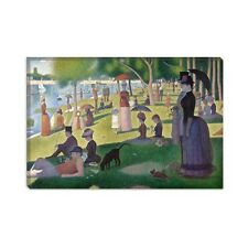 Sunday Afternoon La Grande Jatte Georges Seurat Canvas Print Painting Facsimile