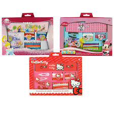 ♥DISNEY KINDER HAARSET HELLO KITTY /MINNIE MOUSE / PRINCESS 17 tlg♥NEU ♥