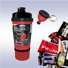 USPLABS 3-IN-1 SHAKER CUP (25OZ + FILL-N-GO FUNNEL + FREE SAMPLE) blender bottle