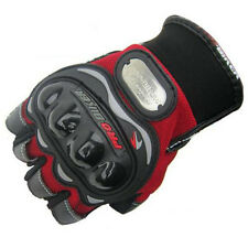 Red Motorcycle Bicycle Bike Cycling Glove Riding Gloves Half Finger Size M/L/XL