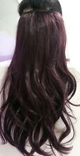 "One Piece Clip In Hair Extensions 18"" 22"" 26"" Thick Like Human full head 100%"