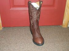 7913 Tony Lama Men's Kodiak Western Boots - Brown 12in Shaft Made in the USA NWT