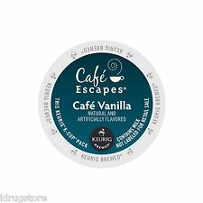 Cafe Escapes Coffee & Hot Chocolate PICK ANY FLAVOR Keurig K-Cups 96-Count