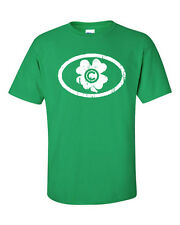 Chicago Cubs Baseball Shamrock St Patrick's Day Pat's Men's Tee Shirt 777