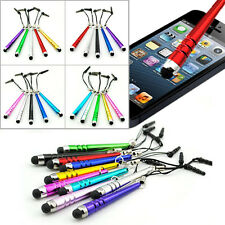 5PCS Metal Touch Screen Stylus Short Pen For IPhone5 5S iPad5 Kindle Samsung S5